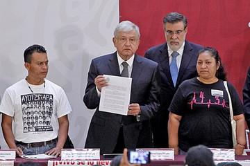 López Obrador brinda un nuevo impulso al  caso de Ayotzinapa