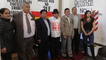 Asambleístas opositores entran en huelga de hambre