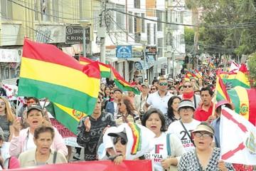 Codeinca protesta por 21F y pide no olvidar Incahuasi ni Calancha