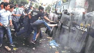 Rechazo a Evo se cobra nuevos episodios violentos en las calles