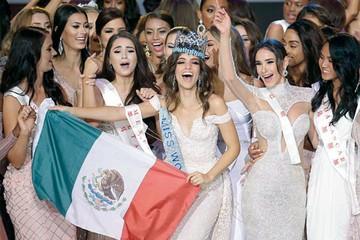 Una mexicana es Miss Mundo
