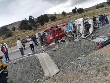 Mueren 16 personas en la  colisión de motorizados