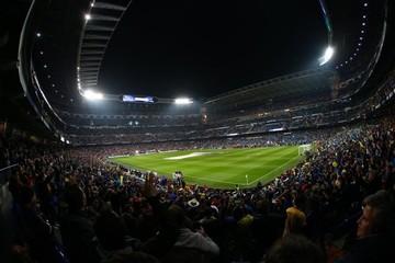 El Santiago Bernabéu vive una auténtica fiesta de fútbol