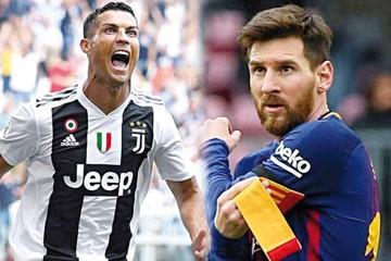 Cristiano reta a Messi