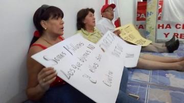 Cívicos de tres regiones  se atrincheran en huelga
