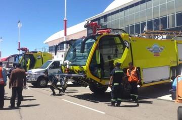 Alcantarí: Entregan carros bomberos, ambulancia y cintas transportadoras