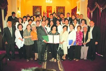 La Coral Antonio Auza festeja con honores