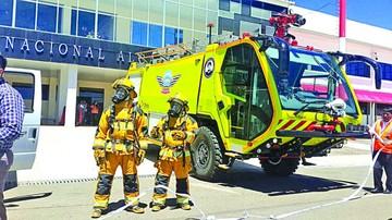 Alcantarí ya tiene carros  bomberos y espera el ILS