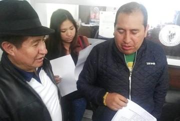 Presentan denuncia penal contra vocales del TSE por habilitar al binomio Evo-Álvaro