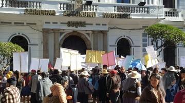 Cierran centros de abasto de Sucre y afiliados protagonizarán una marcha