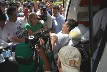 Líder cívico de Santa Cruz deja la huelga debido a un cuadro crítico de su salud