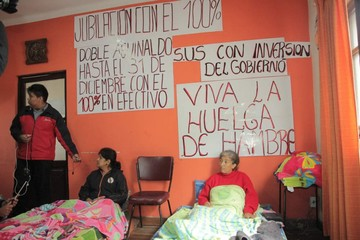 "Obreros anuncian ""lucha  sostenida"" por demandas"