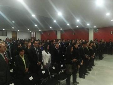 Casi 80 nuevos jueces reciben su designación