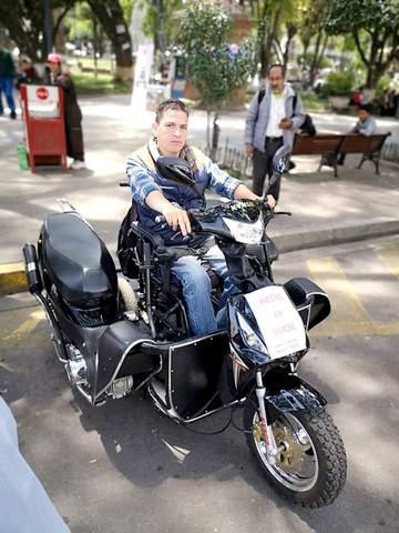 Trimoto para personas con movilidad reducida