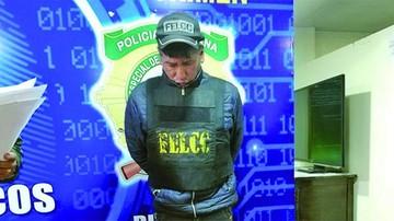 Capturan a falso policía por extorsión en La Paz