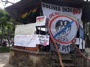 Huelga de hambre sufre cinco bajas en sus filas