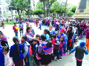 Solidaridad llega a niños  y familias del área rural