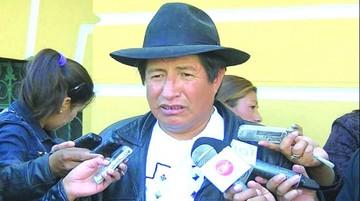 Quispe pide que se inhabilite a García Linera