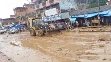 Las lluvias causan destrozos en varias regiones del país