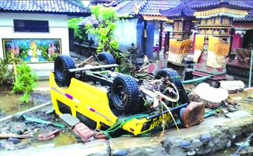 Indonesia: Tsunami deja luto con muertos y heridos