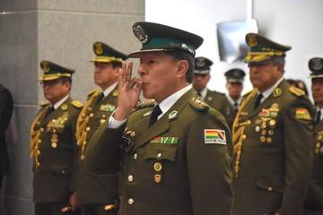 Coronel Rómulo Luis Delgado Rivas es nombrado comandante de la Policía