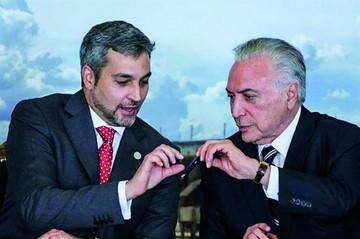 Paraguay y Brasil firman un acuerdo para integración