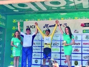 Ciclista local Salas se impone en la Vuelta a Costa Rica