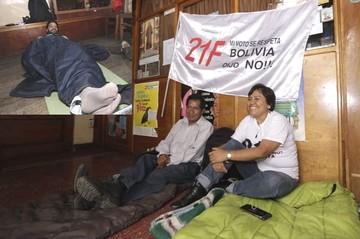 Instalan primer piquete de huelga en Pando y un segundo en Cochabamba