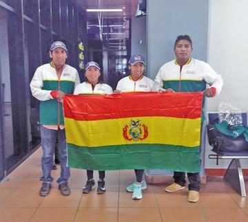 Atletas parten a San Silvestre