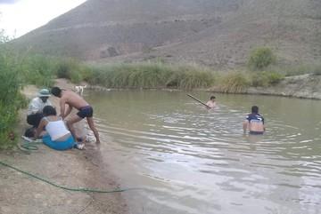 Dos niñas mueren ahogadas en una poza artificial en Incahuasi