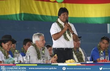"""Morales asegura que no miente, """"no tenemos por qué mentir como la derecha"""""""