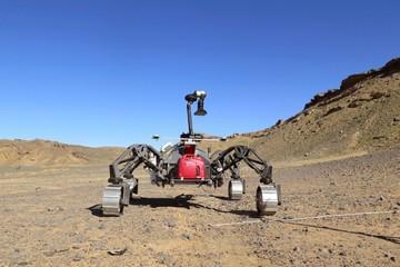 Banco de pruebas: El planeta Marte empieza en desiertos de Marruecos