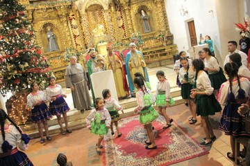 Los tres Reyes Magos obsequiarán regalos a los niños