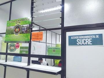 Consejo deja a Sucre sin  Juzgado Agroambiental