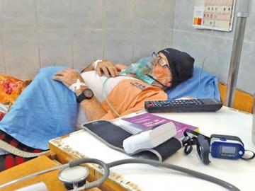 Chito Valle, hospitalizado, espera indulto humanitario