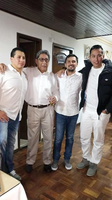 Reunión de la familia Rivero