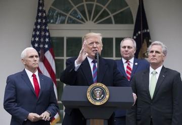 Trump y los demócratas mantienen diferencias