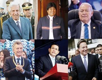 Seis países de la región con presidenciales este 2019