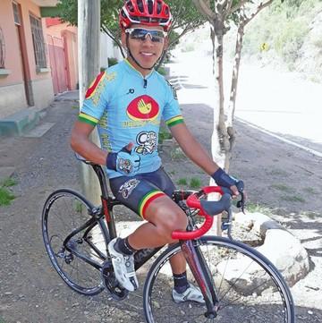La sensación del ciclismo boliviano