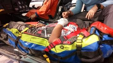 Walter Nosiglia Jager sufre accidente y deja el Dakar junto con su padre