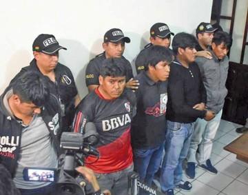 Desarticulan banda de secuestradores en Cochabamba
