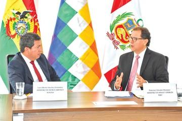 Bolivia y Perú fijan avance  en integración energética