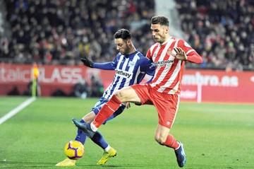 Alavés empata 1-1 en su visita al Girona