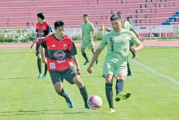 Nacional impone su fútbol ante Fancesa