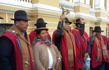 Ponchos Rojos rechazan elecciones primarias