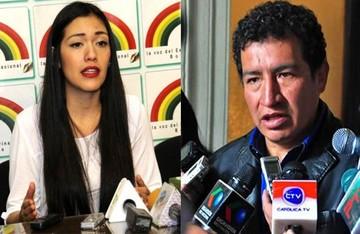 Adriana Salvatierra y Víctor Borda son electos presidentes de Senadores y Diputados