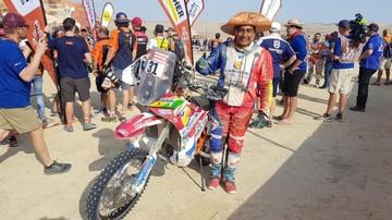 Fuentes y Leo cumplieron con el desafío Dakar