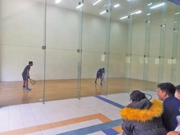 Raquetbol busca plazas