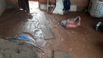 Lluvias provocan inundaciones en tres viviendas y un kinder