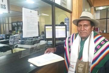 Indígenas presentan recurso contra la ley que convoca a elecciones primarias